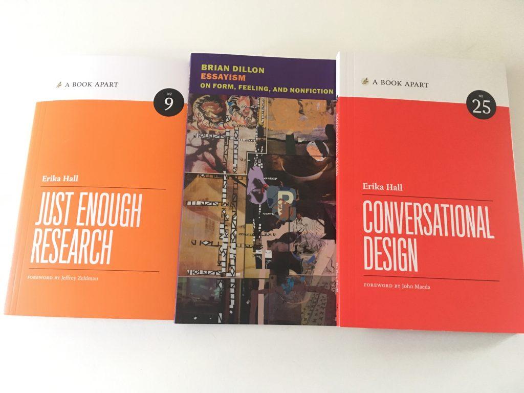 Conversational Design und Essays Bücher