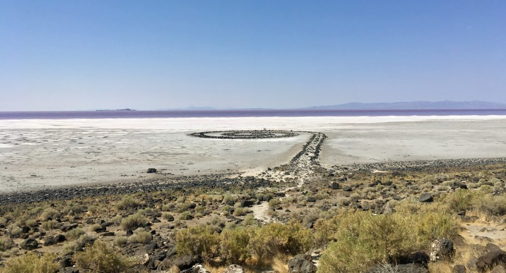 Spiral Jetty Robert Smithson